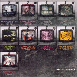 Posiblemente la mejor colección de Cds de música Techno, EBM e Industrial de la historia 1985-1992